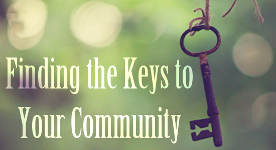 Finding the Keys to Your Community