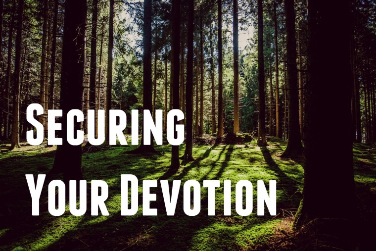 Securing Your Devotion