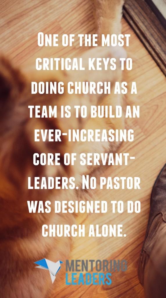Closing the Back Door - Mentoring Leaders