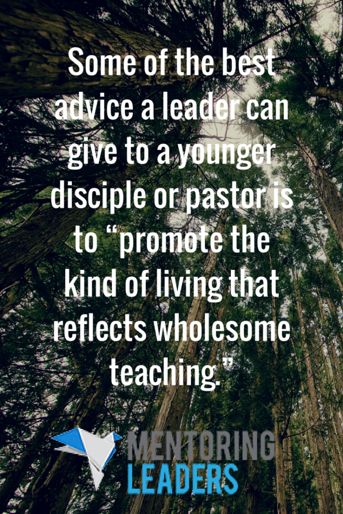 Mentoring Leaders - Ministering to Different Groups (1)