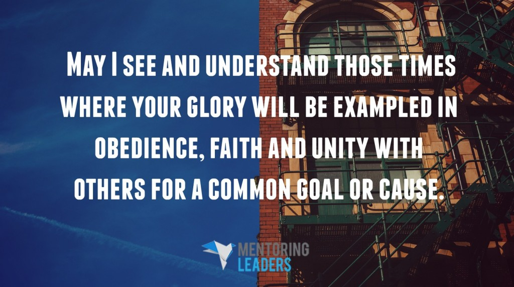 The Power of Faith and Unity  Mentoring Leaders