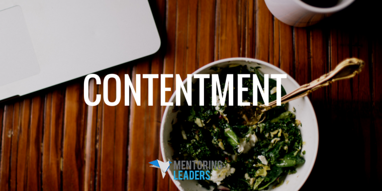 Mentoring Leaders - CONTENTMENT (1)