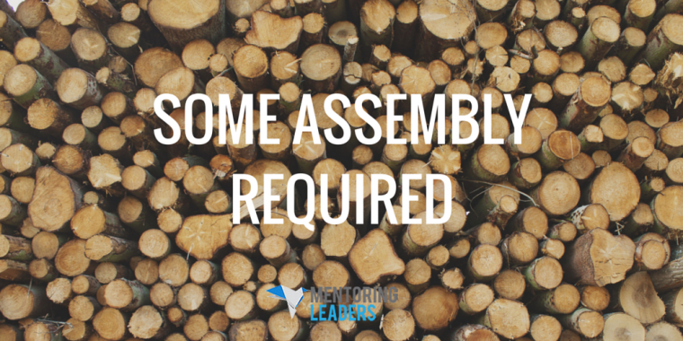 Mentoring Leaders - Some Assembly Required