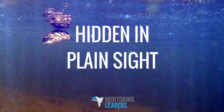Mentoring Leaders - HIDDEN IN PLAIN SIGHT