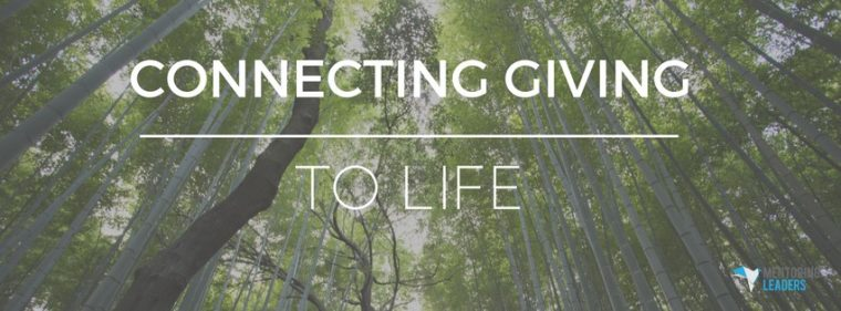 connecting giving